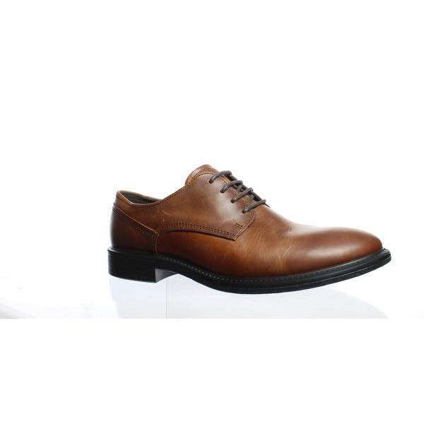 bd8d073d Shop ECCO Mens Knoxville Brown Oxford Dress Shoe Size 8 - Free ...
