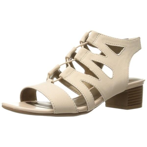 LifeStride Women's Meaning Gladiator Sandal, Blush, Size 7.0 - 7