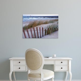 Easy Art Prints Brent Bergherm's 'St Joseph Lighthouse' Premium Canvas Art
