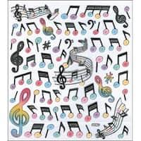 Modern Music - Multicolored Stickers