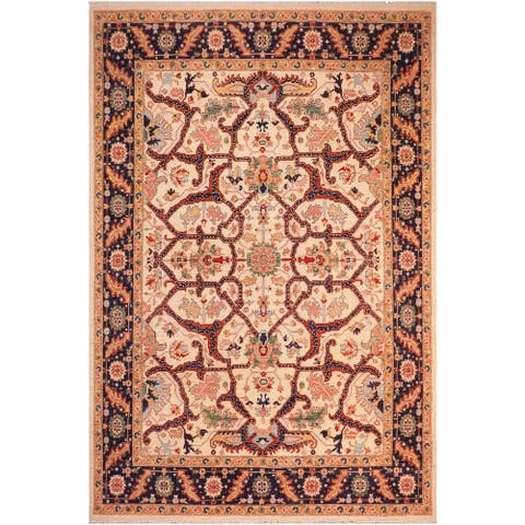 """Boho Chic Ziegler Gayle Hand Knotted Area Rug -8'3"""" x 9'1"""" - 8 ft. 3 in. X 9 ft. 1 in."""