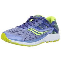 Saucony Womens Ride 10 Reflex Fabric Low Top Lace Up Running Sneaker