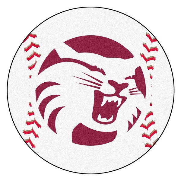 Chico Wildcats Baseball Shaped Mat