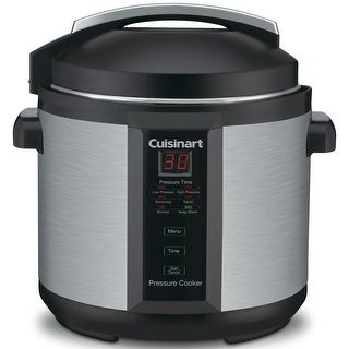 Cuisinart CPC-600 Electric Pressure Cooker, Stainless Steel, 6 Quart