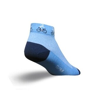 SockGuy Women's 1in Ponytail Cycling/Running Socks - Size S/M - LPONY
