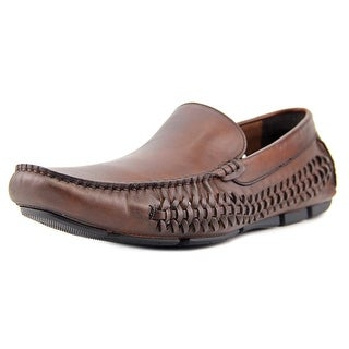 Kenneth Cole NY Major Theme Round Toe Leather Loafer