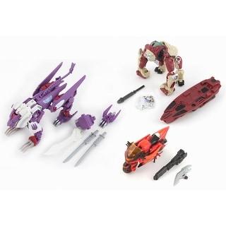 Transformers BotCon 2014 Knight Apelinq Flareup Alpha Trizer Figure Set