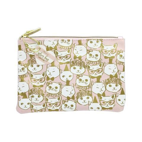 Lady Jayne Glam Bag Fancy Cats Gold Foil