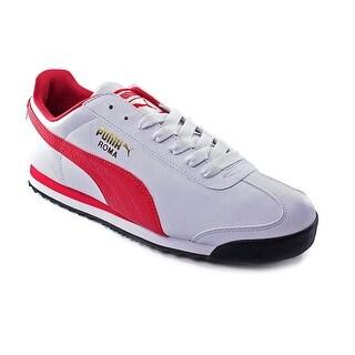 Puma Roma Basic Men Round Toe Synthetic White Walking Shoe