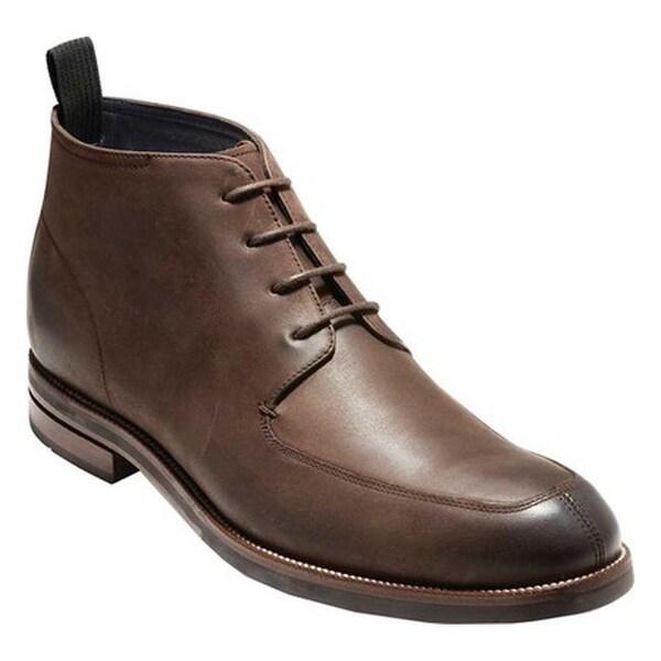 Shop Cole Haan Men S Wagner Grand Apron Chukka Boot Java