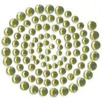 Split Pea - Self-Adhesive Rhinestones 100/Pkg - split pea