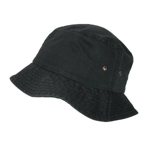 caa925bf4faf0 Sportsman Cotton Twill Summer Packable Travel Bucket Hat