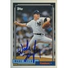 Wade Taylor New York Yankees 1992 Topps Autographed Card This item comes with a certificate of authenticity from Auto