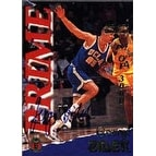 George Zidek Charlotte Hornets 1995 Signature Rookies Prime Autographed Card Rookie Card This item comes with a cer