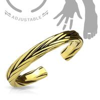Double Braided Adjustable Toe Ring/Mid Ring (Sold Ind.)
