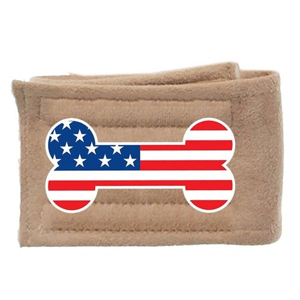 Peter Pads USA Bone Flag Single, Size Extra Small - Tan