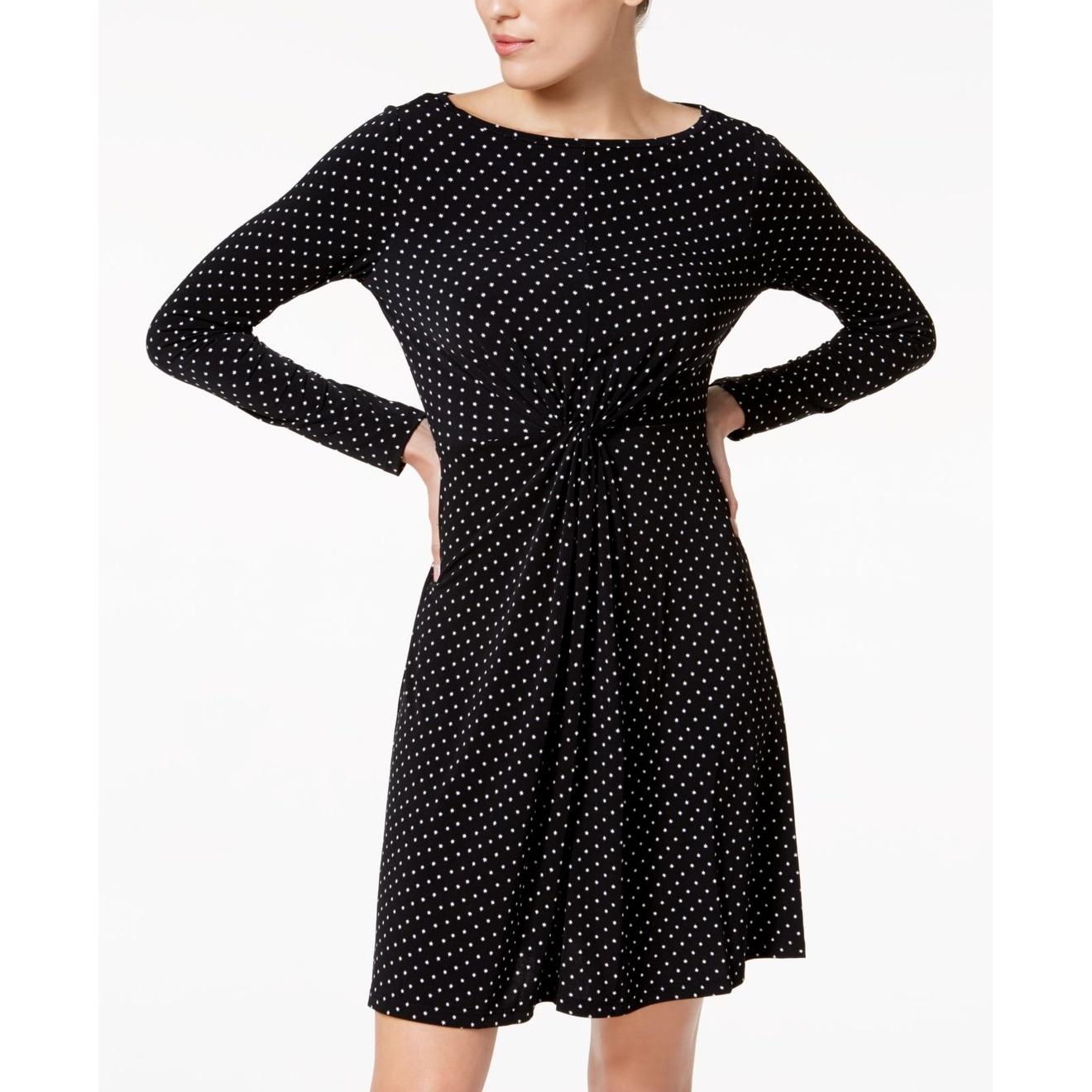 MICHAEL Michael Kors Womens Medium Petite A-Line Dress