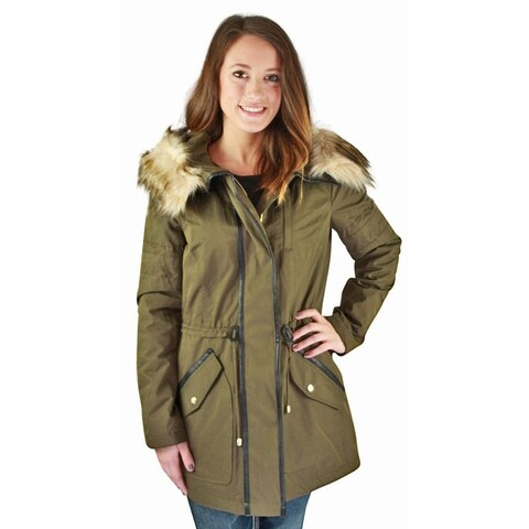 Jessica Simpson Anorak Women's Hooded Parka Winter Coat