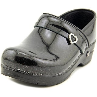 Koi by Sanita Sparkle Round Toe Patent Leather Clogs