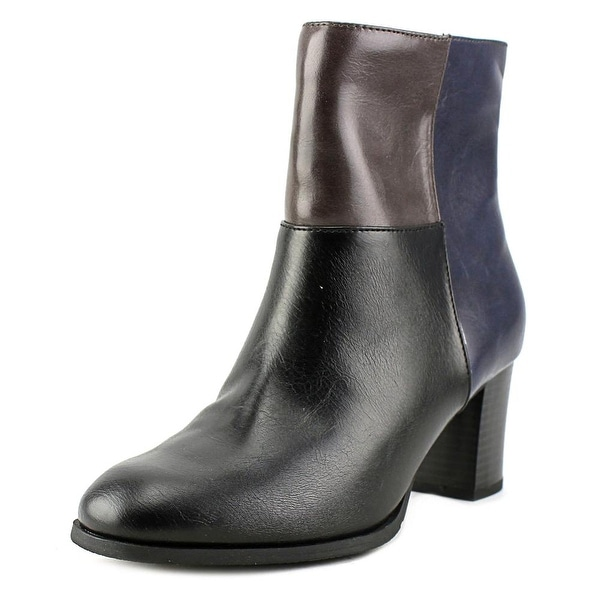 New York Transit Awesome Women Round Toe Synthetic Black Ankle Boot