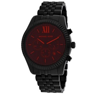 Link to Michael Kors Men's Black Dial Watch - MK8733 Similar Items in Men's Watches