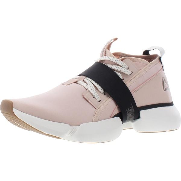 Reebok Womens Split Flex Sneakers Fitness Workout - Buff/Black/Chalk. Opens flyout.