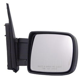 Pilot Automotive TYC 4800031 Black Passenger/ Driver Side Power Non-Heated Replacement Mirror for Honda Element