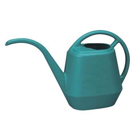 Bloem Watering Can Aqua Rite 1/2 Gal. (56 oz) Bermuda Teal Green - 1/2 Gal. (56 oz)