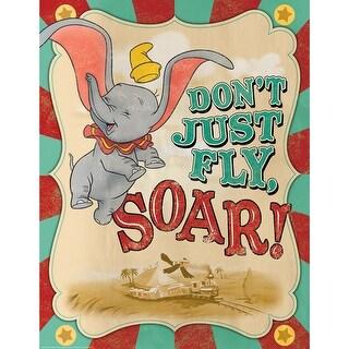 Dumbo Soar 17X22 Poster