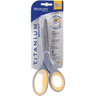 """Titanium Straight Scissors 8""""-"""
