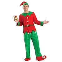Simply Elf Unisex Adult Costume One Size - Red
