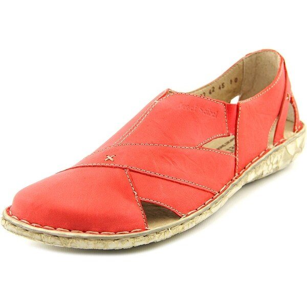 Josef Seibel Inka 11 Women  Round Toe Leather Red Fisherman Sandal