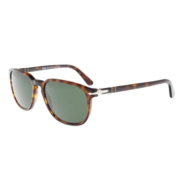 32280f41dc Shop Persol PO3019S 24 31 Havana Square Sunglasses - 55-18-145 ...