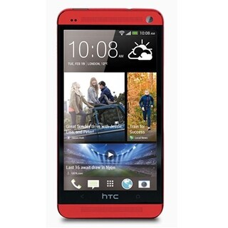 HTC One M7 32GB - 801s Red Unlocked GSM Mobile Phone