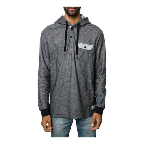 Ezekiel Mens The Covington Hoodie Sweatshirt, Black, Small