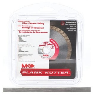 "MK Diamond 156993 Plank Kutter Series Diamond Blade, 4"""