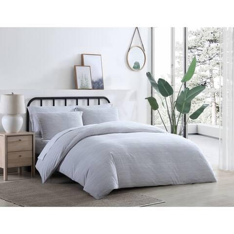 Azalea Skye Oshun Cotton Grey Comforter Set