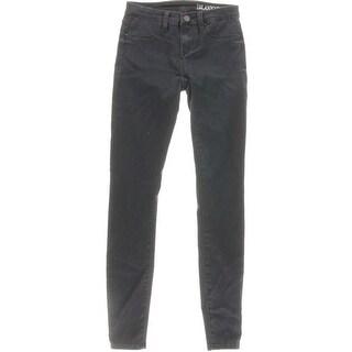 Blank NYC Womens Bugga Boo Skinny Jeans Denim Low Rise