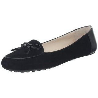 Plenty by Tracy Reese Womens Adeline Flats Suede Bow