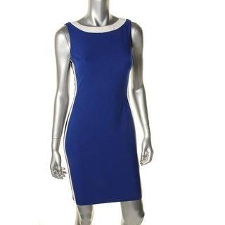 Lauren Ralph Lauren Womens Petites Knee-Length Sleeveless Wear to Work Dress - 14P