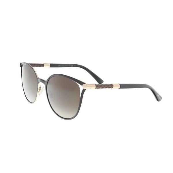 a076b73861e Shop Jimmy Choo Neiza S 0J6H Matte Black Cateye Sunglasses - 54-20 ...