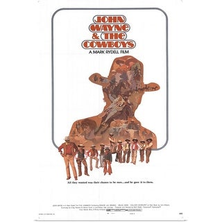 """Link to """"Cowboys (1972)"""" Poster Print Similar Items in Art Prints"""