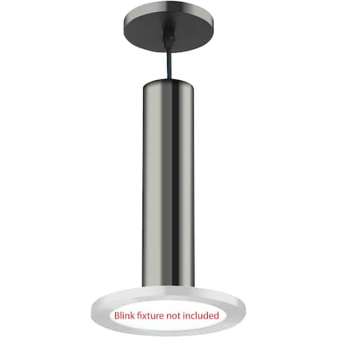 "Nuvo Lighting 62/1307 BLINK Slim 7"" Pendant Conversion Kit - - Polished Nickel"