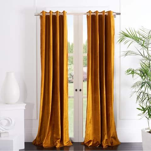 Safavieh Creslia Window Curtain Grommet Panel Treatment