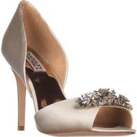 Badgley Mischka Giana D'Orsay Pump Pumps, Ivory