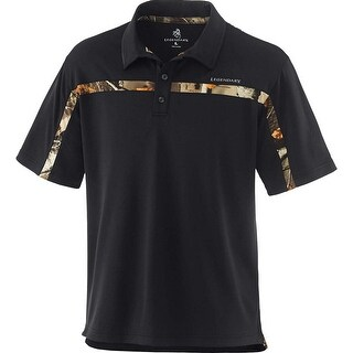 Legendary Whitetails Men's Big Game Trailhead Performance Polo