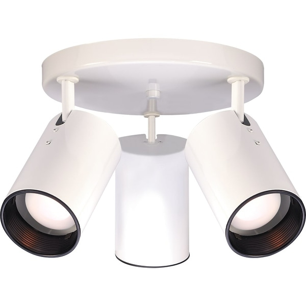 """Nuvo Lighting 76/416 3 Light 14"""" Wide Accent Light Ceiling Fixture - White - N/A"""