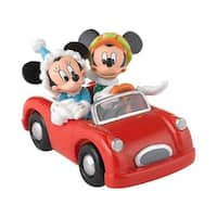"Department 56 Disney ""Mickey and Minnie's Holiday Drive"" Figurine"