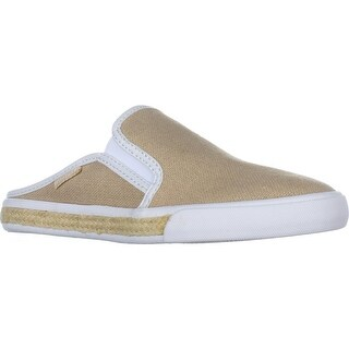 Tommy Hilfiger Frank Slip-On Comfrot Mules, Light Natural