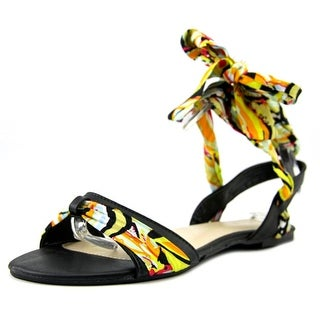 Bamboo Caleb-13 Women Open Toe Synthetic Multi Color Gladiator Sandal